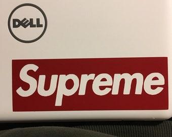Supreme Vinyl Decal Sticker