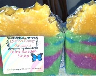 Fairy Garden Soap