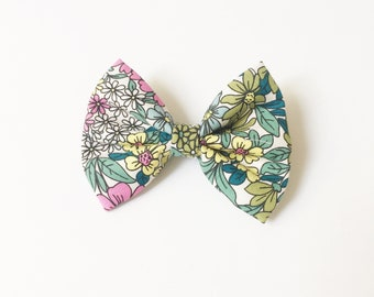 Spring hair bow, summer hair bow, hair bows, garden bow, mybowcloset, bows