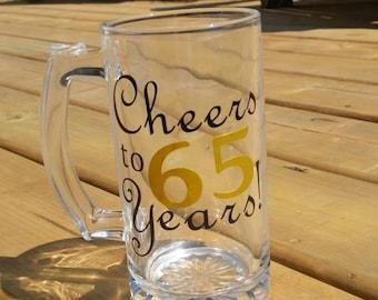 Milestone Beer Mug