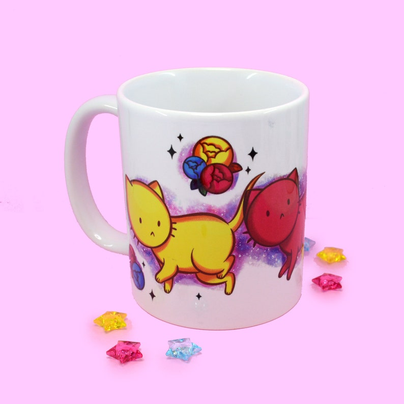 CMYKitties Cute Cat Full Color Mug image 0