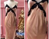 Vintage 100% SILK Pink & ...