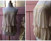 SALE! 1920s inspired Silk...