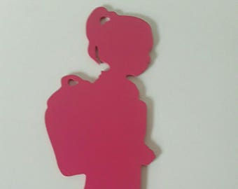 personalized girl door plaque