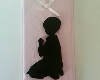 medium hand painted door plaque