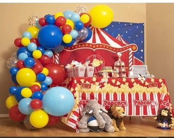 Mylar Balloon 30 Inch Cotton Candy Mylar Balloon Cotton Candy Balloon Carnival Party Sweet Shoppe Circus Party Carnival Birthday