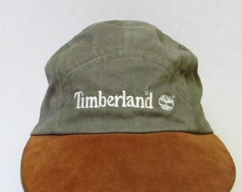 b23edd55 Vintage USA Made Timberland Fitted Trucker Hat Mens M/L
