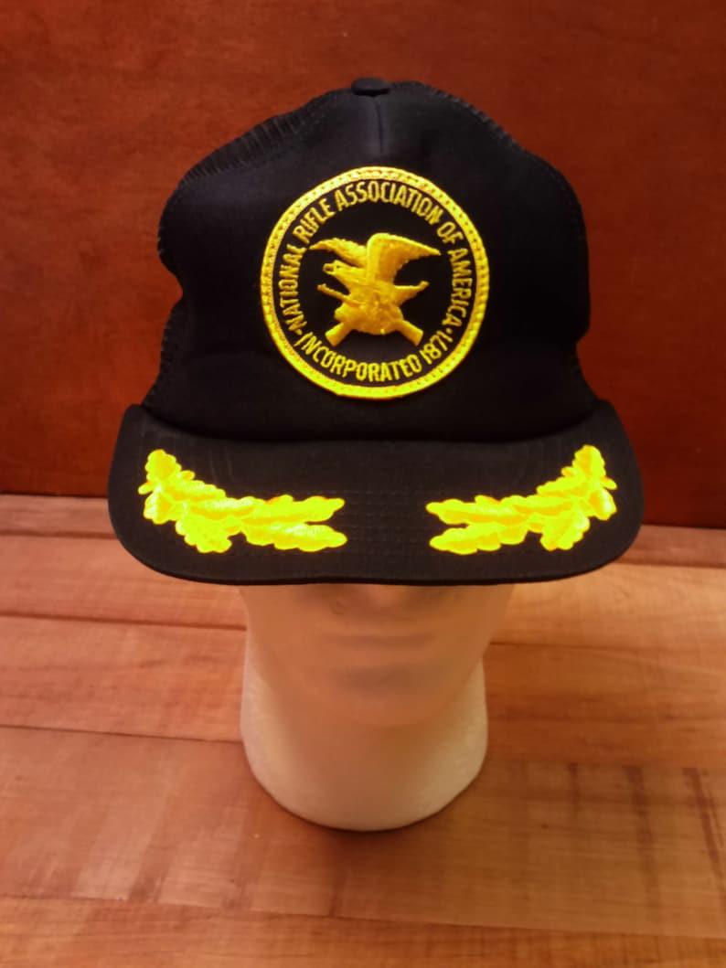 NRA National Rifle Association Gun Show Black Men/'s Baseball Cap Hat