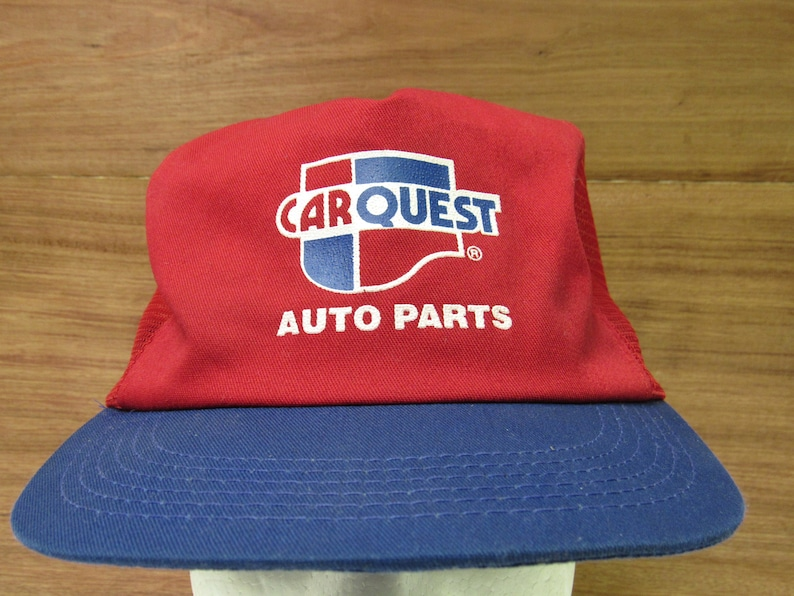 Carquest Auto Parts Near Me >> Vintage Usa Made Carquest Auto Parts Mens Snap Back Trucker Hat Osfm