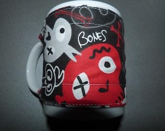 "Mug warmer ""death head"""