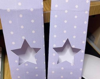 Pastel Polka Printed Wax Melts Snap Bar Boxes