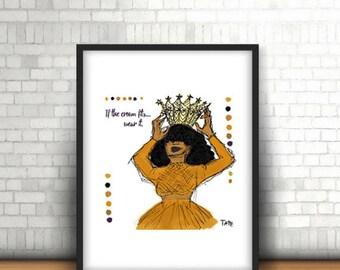 If the Crown Fits.....Wear It