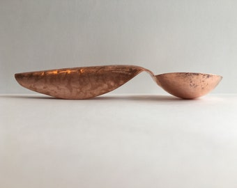 One of a kind unique copper spoon