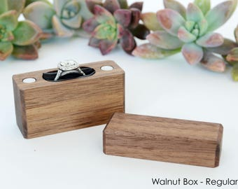Slim Engagement Ring Box - Magnetic