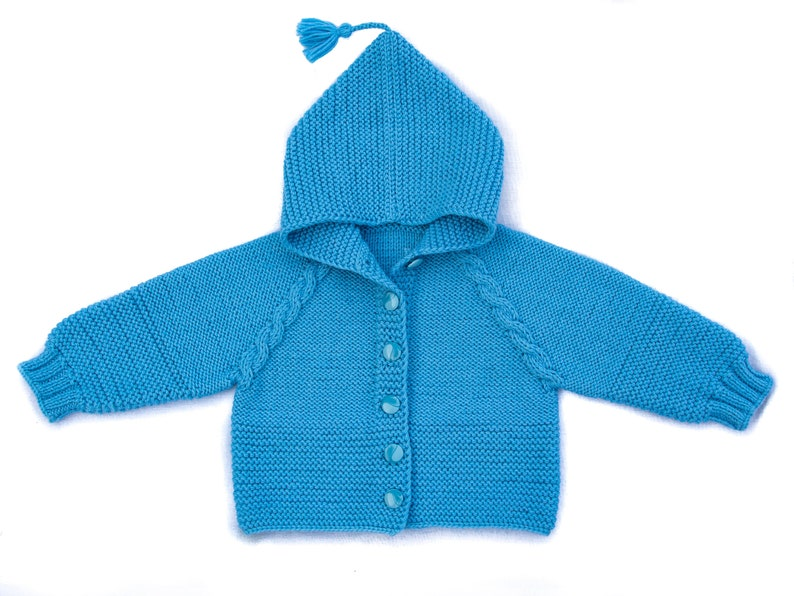 f49e030cf Baby hooded sweater knit baby sweater knit baby jacket wool