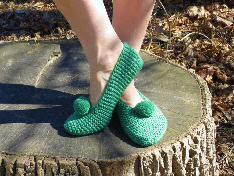 e0be13f907ce5 Hand knitted wool slippers women home shoes green house slippers wool  moccasins st patricks day outfit day wool men socks knit women socks