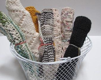 Large Knit Washcloth   Multipurpose   100% Handmade & Homemade