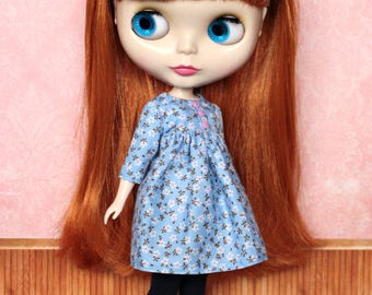 Blythe Dress, Neo Blythe Floral Dress