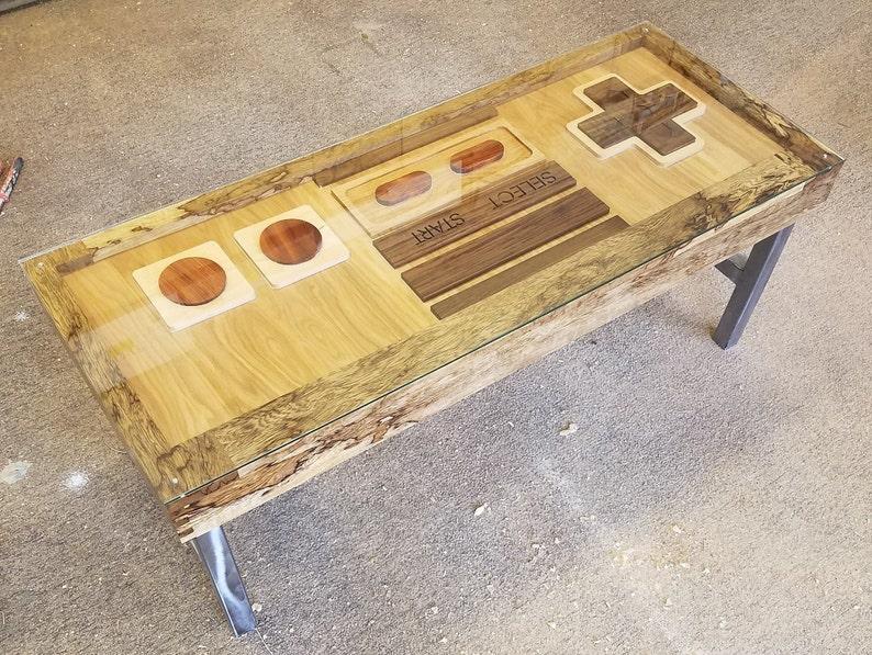 Controller Coffee Table.Original Nes Controller Coffee Table