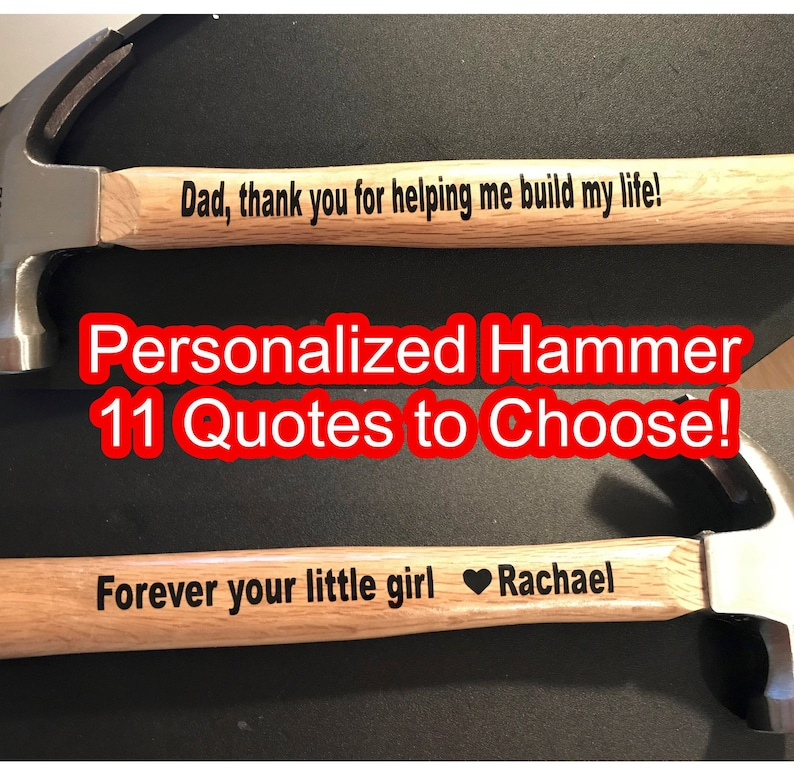 fc9c53e7f276b Fathers day gift Fathers day hammer Fathers gift idea Gift