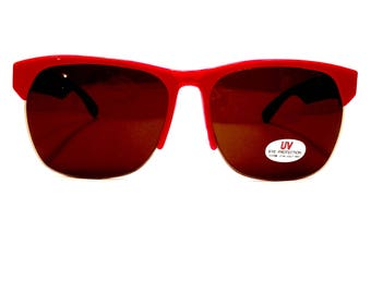 1858a868efa Red Clubmasters Clubmaster Sunglasses Man Sunglasses Woman Gift Man Gift  Woman Accessories Red Glasses Mens Glasses Womens Glasses