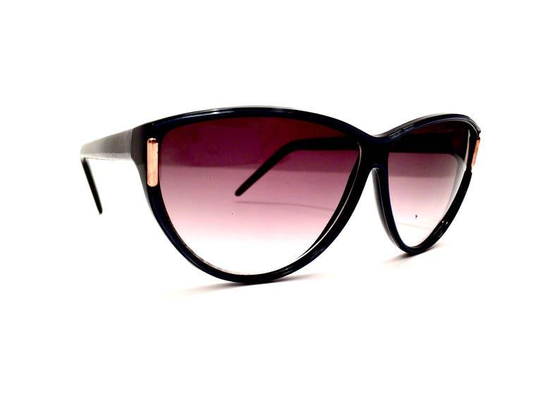ff93fd2d47 80s Vintage Cat Eye Sunglasses Cateye Glasses Cateye