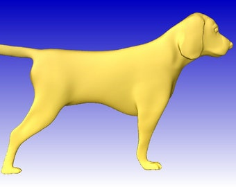 Beagle stl model for cnc