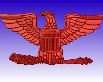 Colonel Eagle stl model