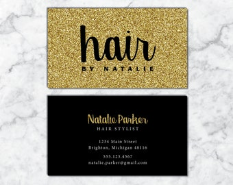 Rose gold hairstylist business cards business cards for etsy business cards hairstylist hairdresser business cards white and gold business cards business cards hair business card template hair reheart Image collections