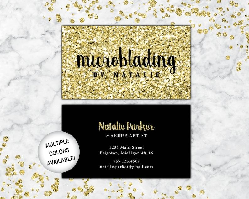 Cartes De Visite Microblading Lartiste