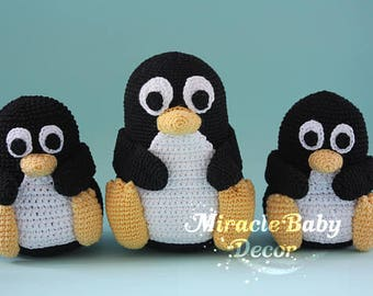 Penguin  computer accessories Gift for geek  gift for programmer gift for IT gift for sysadmin mascot computer toy