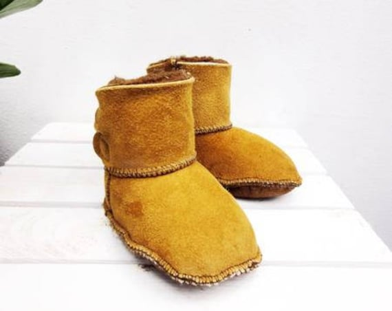 Real Leather Kids' Shoes. Genuine Leather And Natural Sheepskin Booties For Kids. Furry Sheepskin Kids' Slippers.