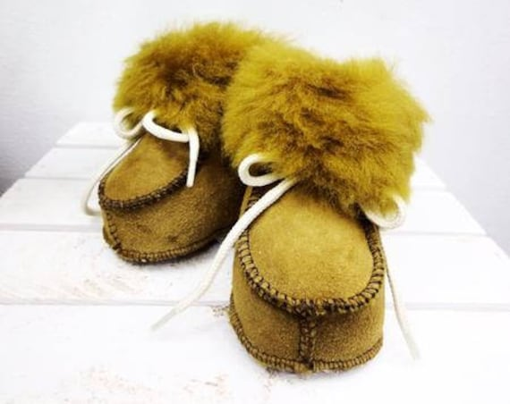 Real Leather Kids' Shoes. Natural Leather Slippers For Kids. Genuine Leather Booties. Sheepskin Slippers For Kids.