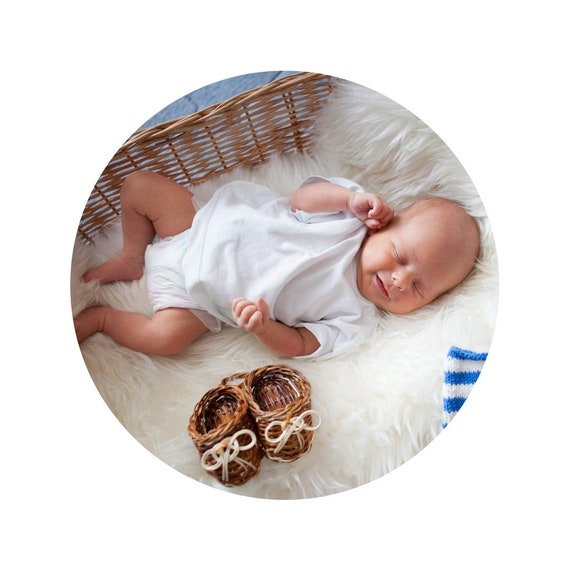 Baby sheepskin blanket!  Safe for health!