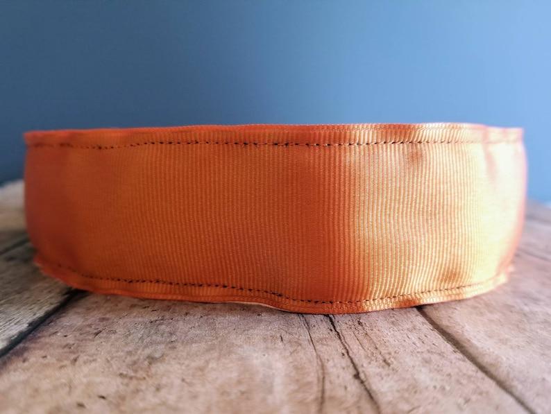 Orange Wide Nonslip headbands for women no slip headband image 0