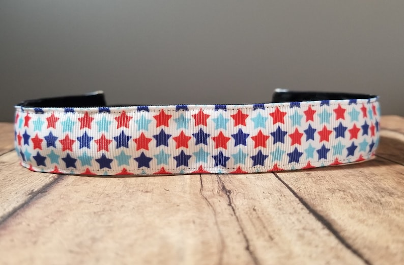 Patriotic Nonslip headbands for women no slip headband image 0