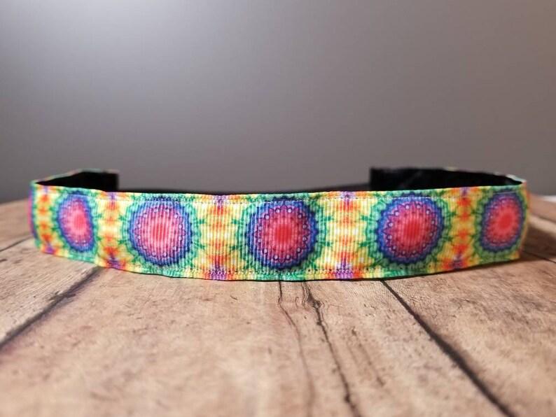 Tie Dye Nonslip headbands for women no slip headband workout image 0