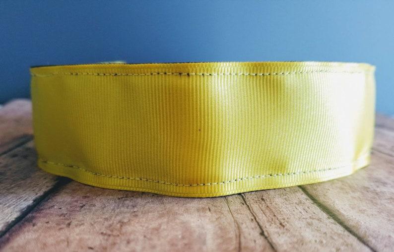 Yellow Wide Nonslip headbands for women no slip headband image 0