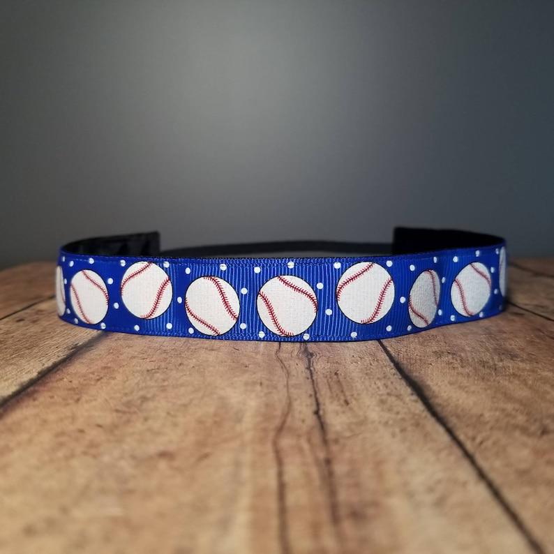 Baseball Nonslip headbands for women no slip headband image 0