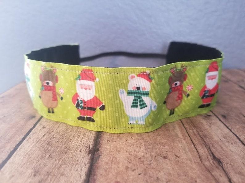 Christmas Nonslip headbands for women no slip headband image 0