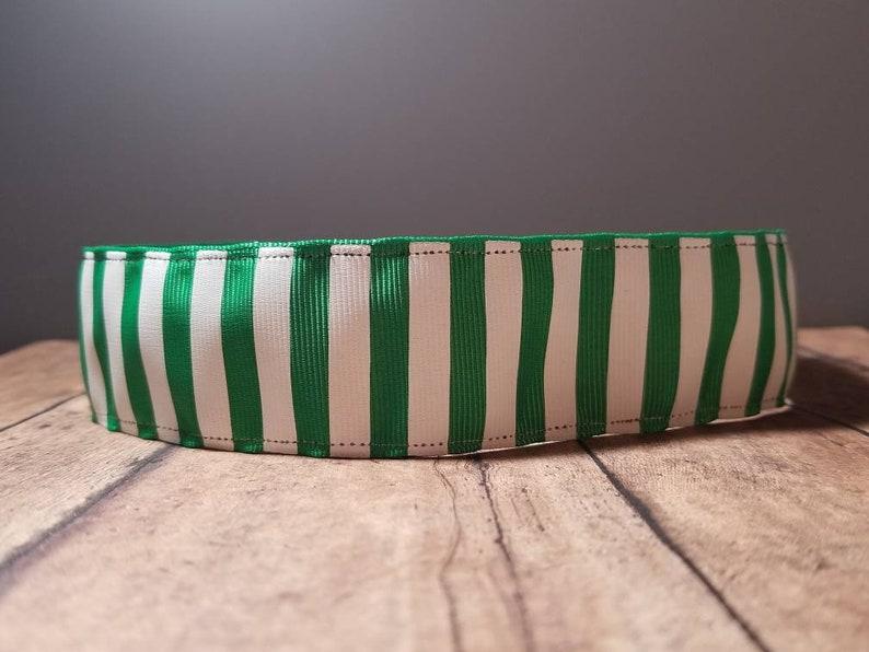 Striped Wide Nonslip headbands for women no slip headband image 0