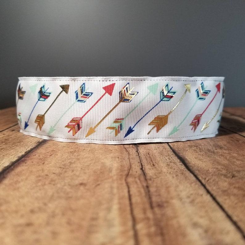 Arrows wide Nonslip headbands for women no slip headband image 0