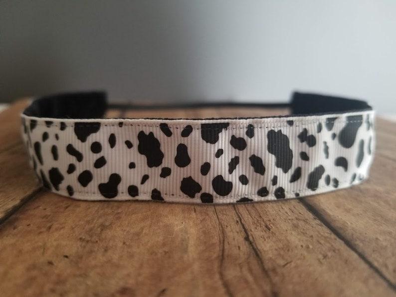 Cow Nonslip headbands for women no slip headband workout image 0