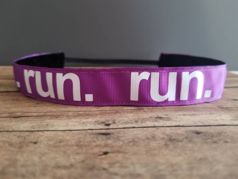 Run. Nonslip headbands for women no slip headband workout image 0