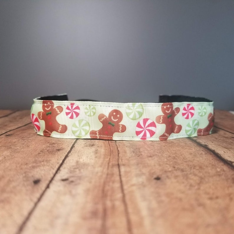 Gingerbread Nonslip headbands for women no slip headband image 0