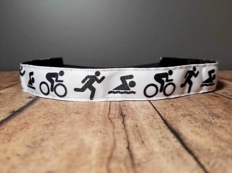Triathlon Nonslip headbands for women no slip headband image 0