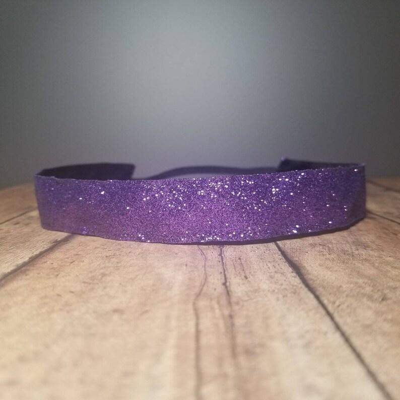 Glitter Nonslip headbands for women no slip headband workout image 0