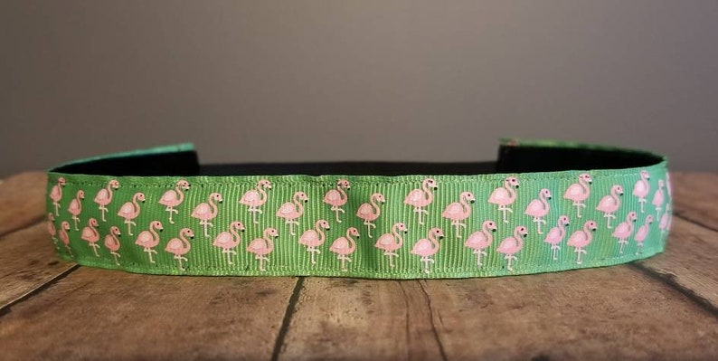 Flamingo Nonslip headbands for women no slip headband image 0