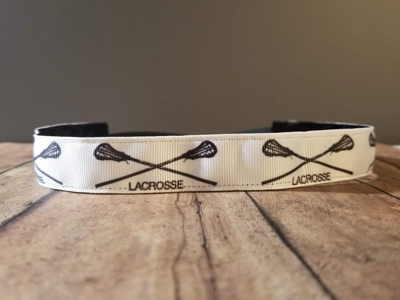 Lacrosse Nonslip headbands for women no slip headband image 0