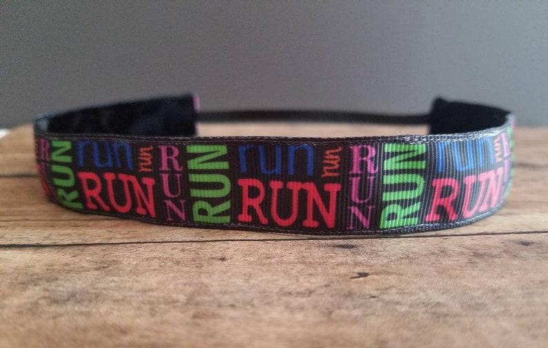 Run Nonslip headbands for women no slip headband workout image 0